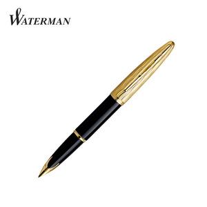 [각인+병잉크증정]워터맨 까렌 만년필-에센셜 블랙 GT(1WW112051)