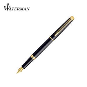 [각인+병잉크증정]워터맨 뉴 헤미스피어 만년필-락카 블랙 GT(1WS0920600)