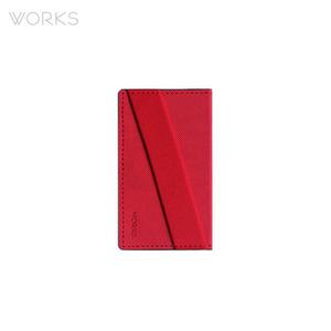 웍스 폰 홀더(58x100mm)-레드(WBH-1579)