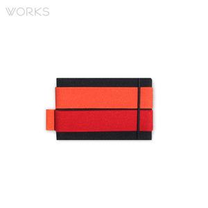 웍스 카드 홀더(100x60mm)-레드(WBH-1409)