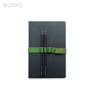 웍스 펜 홀더(148x20mm/A5)-라임그린(WBH-1329)