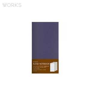 웍스 블렌드 노트북(86x150mm)-바이올렛(WAN-1814)