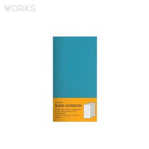 웍스 블렌드 노트북(86x150mm)-터쿼이즈(WAN-1834)