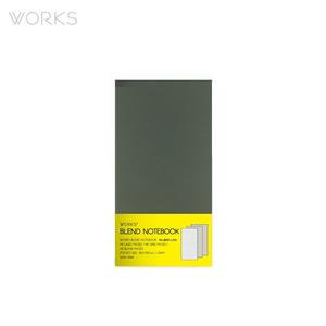 웍스 블렌드 노트북(86x150mm)-그레이(WAN-1844)