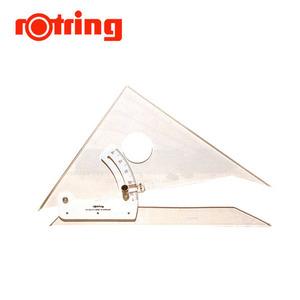 로트링 각도조절 삼각자 30cm(814313)