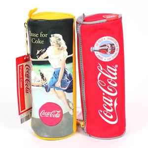 [26286] 코카콜라 원통 봉제필통