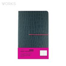 웍스 프리미엄 라인드 노트북 맥시(142x220mm)-그린(WAN-1321)