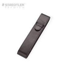 [무료각인]스테들러 프리미엄 1구 가죽케이스-브라운(9PJS1ET-7)