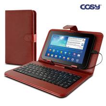 코시 브라운 7형 태블릿PC 케이스 키보드 KB1172CS