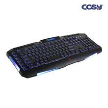 코시 컴뱃 LED 게이밍 키보드 KB1257G